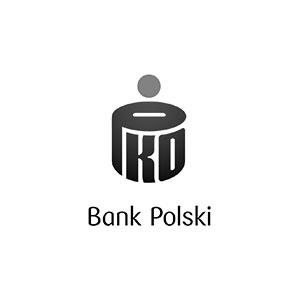 Logo PKO BP szare