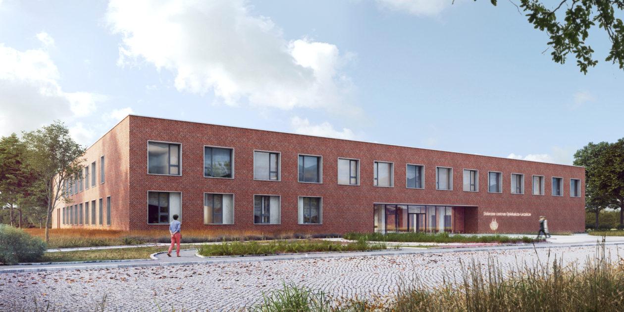 Stołeczne Centrum Opiekuńczo-Lecznicze Mehofera budynek
